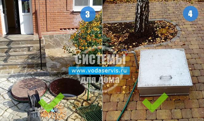 правильное место для водяной скважины около дома