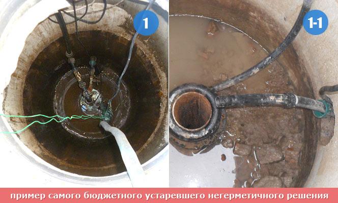 Кессон для скважины из колец своими руками 19